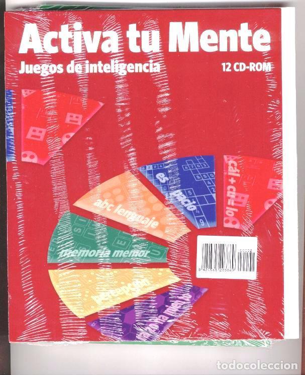 ACTIVA TU MENTE JUEGOS DE INTELIGENCIA NÚMERO 2 + CD Y FUNDA COMPLETA (Libros Nuevos - Educación - Aprendizaje)