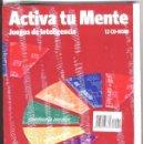 Libros: ACTIVA TU MENTE JUEGOS DE INTELIGENCIA NÚMERO 2 + CD Y FUNDA COMPLETA. Lote 68391975