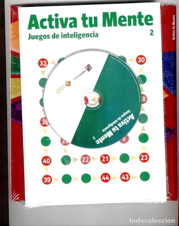 Libros: ACTIVA TU MENTE JUEGOS DE INTELIGENCIA NÚMERO 2 + CD Y FUNDA COMPLETA - Foto 2 - 68391975