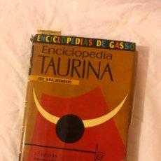 Libros: ENCICLOPEDIA TAURINA. Lote 75728921