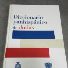 Libros: DICCIONARIO PANHISPÁNICO DE DUDAS DE LA REAL ACADEMIA ESPAÑOLA.. Lote 85128636