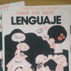 Libros: LENGUAJE CARLOS ÁLVAREZ AÑOS 70. Lote 86352216