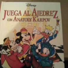 Libros: JUEGA AL AJEDREZ CON ANATOLY KARPOV DE DISNEY. Lote 94247504