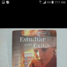 Libros: ESTUDIAR CON EXITO. Lote 96043355