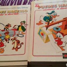 Libros: TU PUEDES HACERLO, COMPLETA DE WALT DISNEY. Lote 101440843