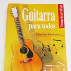 Libros: GUITARRA PARA TODOS. Lote 102961596
