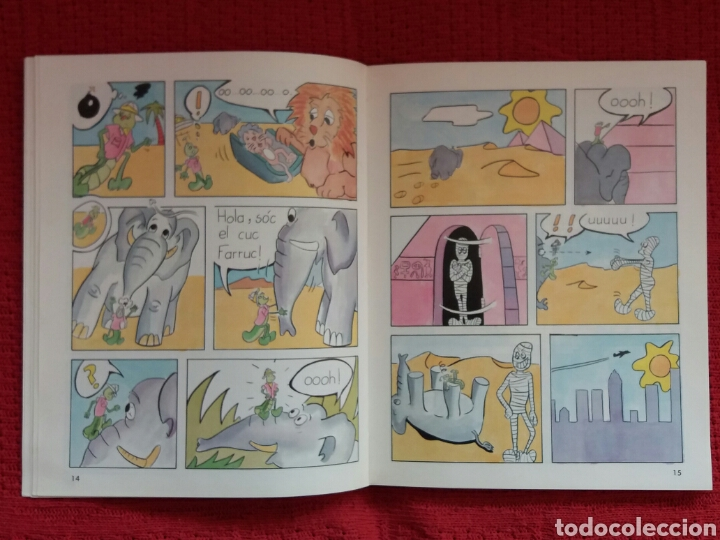 Libros: EL CUC FARRUC -DIPUTACIÓN PROVINCIAL DE VALENCIA- - Foto 2 - 103056627