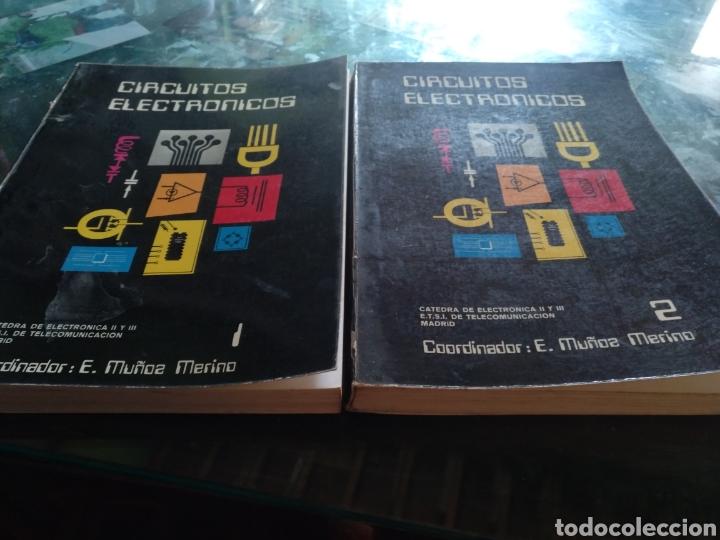 CIRCUITOS ELECTRÓNICOS VOLUMEN 1 Y 2 (Libros Nuevos - Educación - Aprendizaje)