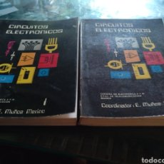 Libros: CIRCUITOS ELECTRÓNICOS VOLUMEN 1 Y 2. Lote 103287456