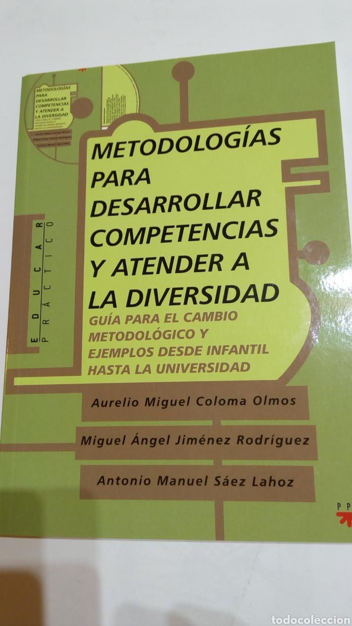 LIBRO METODOLOGÍAS PARA DESARROLLAR COMPETENCIAS Y ATENDER A LA DIVERSIDAD. PPC. A. MIGUEL COLOMA (Libros Nuevos - Educación - Aprendizaje)