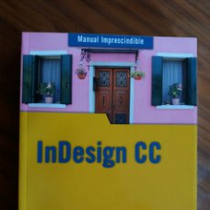 Libros: MANUAL INDESIGN CC. Lote 204191005