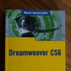 Libros: MANUAL DREAMWEAVER CS6. Lote 105901867