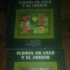 Libros: DOS LIBROS DE FLORES DE CASA Y JARDÍN NÚMERO 1 Y 6. Lote 107776194