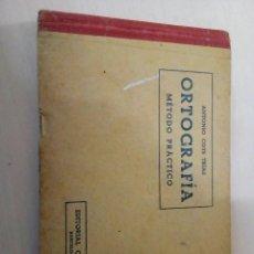 Libros: LIBRO ANTIGUO DE ORTOGRAFÍA . Lote 108745983