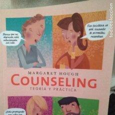 Libros: COUNSELING. TEORÍA Y PRÁCTICA.. Lote 108805559