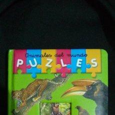 Libros: ANIMALES DEL MUNDO.- PUZZLES. Lote 111348611