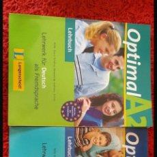 Libros: LOTE DE LIBROS ALEMAN LANGENSCHEIDT. Lote 111422939
