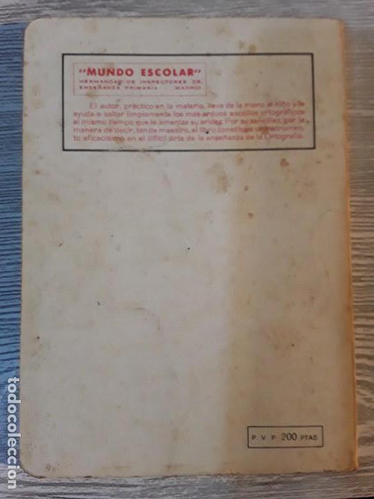 Libros: BREVE ORTOGRAFÍA ESCOLAR. MANUEL BUSTOS SOUSA. - Foto 2 - 111742027