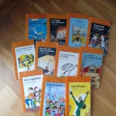 Libros: LOTE 11 LIBRO S LITERATURA INFANTIL. ALFAGUARA INFANTIL. DESDE 10 AÑOS. Lote 112207931