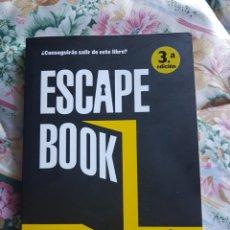 Libros: ESCAPE BOOK LUNWERG EDITORES. Lote 112515939