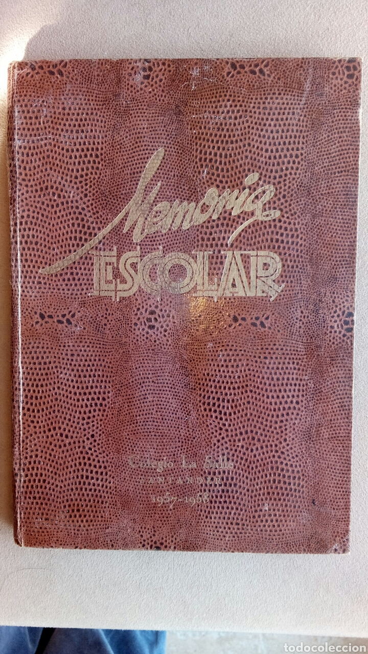 MEMORIA ESCOLAR LA SALLE SANTANDER 1957/58 (Libros Nuevos - Educación - Aprendizaje)