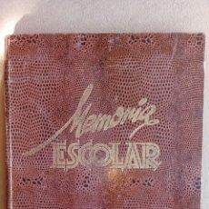 Libros: MEMORIA ESCOLAR LA SALLE SANTANDER 1957/58. Lote 113649364