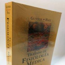 Libros: TRATADO DE FISIOLOGÍA MÉDICA. GUYTON HALL. LIBRO PRECINTADO.. Lote 116560650