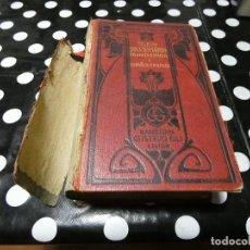 Libros: DICCIONARIO FRANCES-ESPAÑOL LIBRERIA ARMAND COLLINS, 1906 LOMO A REPEGAR, INICIO DE DESPAGINACION. Lote 117680003