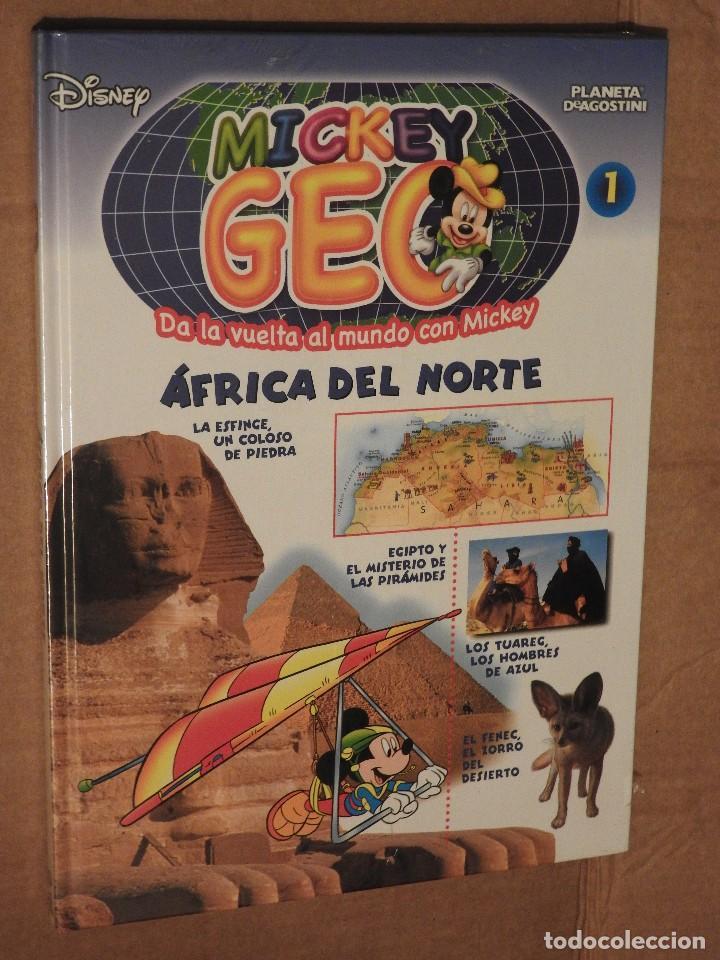 MICKEY GEO - AFRICA DEL NORTE - Nº 1 - PLANETA DEAGOSTINI (TOTALMENTE NUEVO, PRECINTADO) (Libros Nuevos - Educación - Aprendizaje)