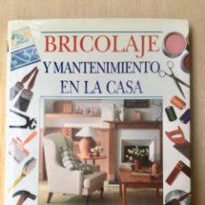 Libros: BRICOLAJE Y MANTENIMIENTO DE LA CASA. NUEVO. Lote 122011479