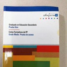 Libros: CIENCIAS SOCIALES GEOGRAFÍA E HISTORIA. Lote 124246386