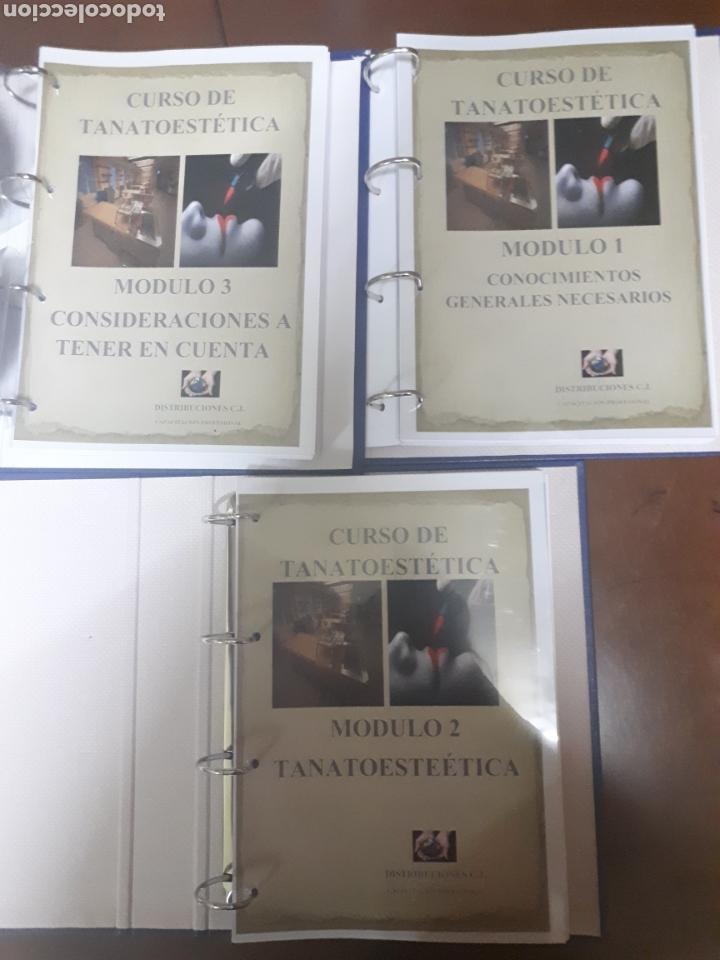 CURSO DE TANATOESTETICA (Libros Nuevos - Educación - Aprendizaje)
