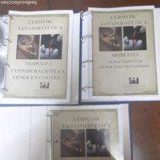 Libros: CURSO DE TANATOESTETICA. Lote 127154363