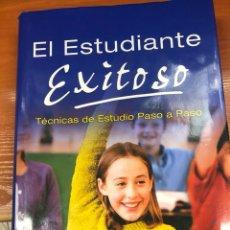 Libros: EL ESTUDIANTE EXITOSO. TÉCNICAS DE ESTUDIO PASO A PASO. EDITORIAL OCÉANO. Lote 130386147