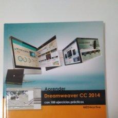 Libros: APRENDER DREAMWEAVER CC 2014. Lote 131171785