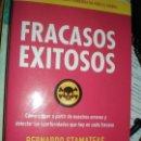 Libros: FRACASOS EXITOSOS, DE BERNARDO STAMATEAS. Lote 132037638