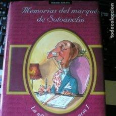 Libros: MEMORIAS DEL MARQUÉS DE SOTOANCHO, DE ALFONSO USSIA. Lote 132037822