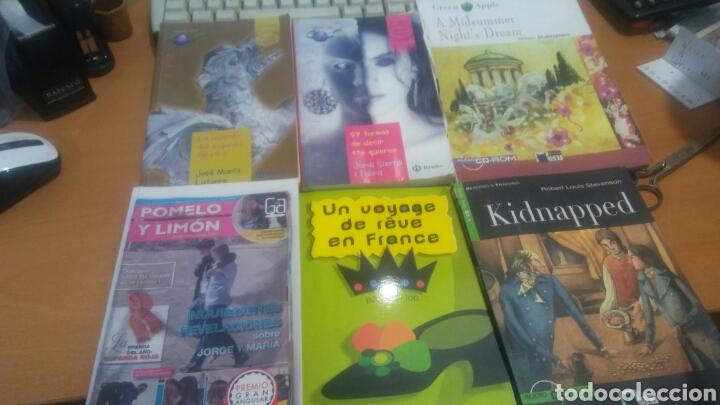 LOTE DE 6 LIBROS DE SECUNDARIA 3 EN ESPAÑOL 1 FRANCÉS 2 INGLES (Libros Nuevos - Educación - Aprendizaje)