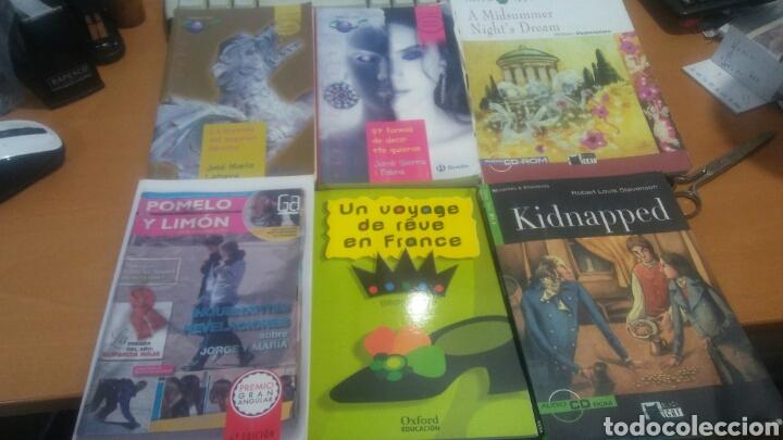 Libros: Lote de 6 libros de secundaria 3 en español 1 francés 2 ingles - Foto 2 - 132720602