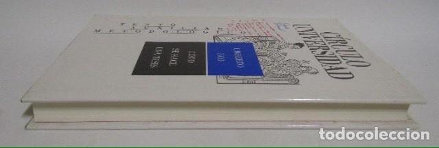 Libros: Umberto Eco. Cómo se hace una tesis. Círculo universidad. Barcelona 1989. - Foto 8 - 133399274