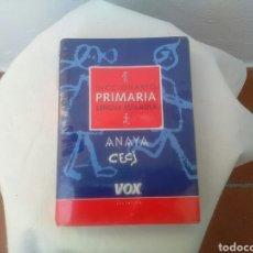 Libros: DICCIONARIO ESCOLAR. Lote 134383506