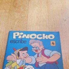 Libros: CARTILLA ESCRITURA PINOCHO WALT DISNEY AÑO 1976 . Lote 134845718