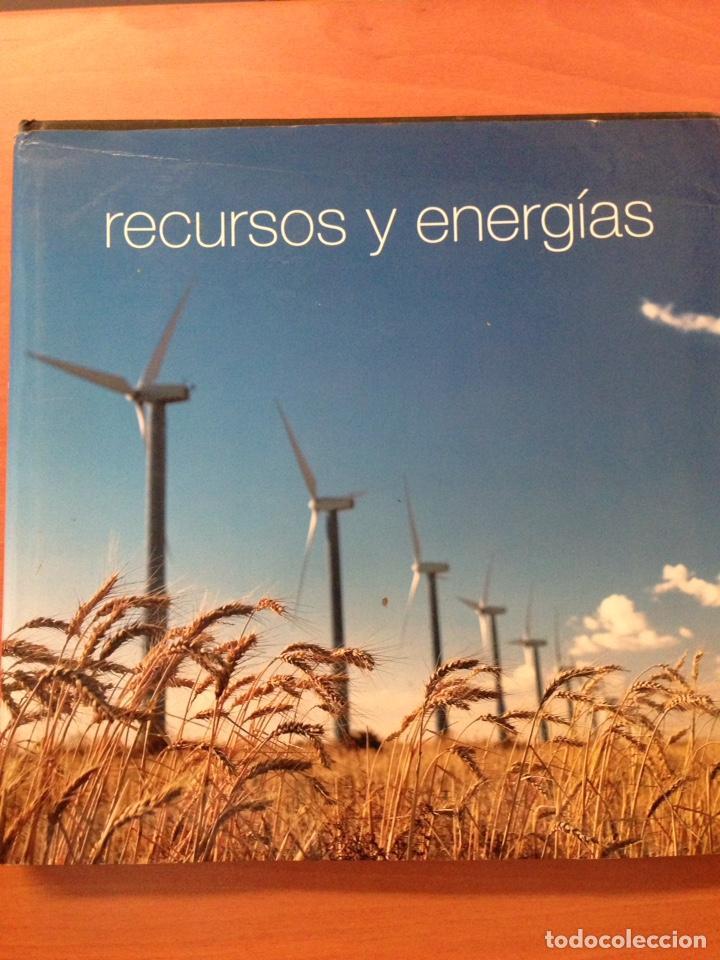 RECURSOS Y ENERGÍAS (Libros Nuevos - Educación - Aprendizaje)