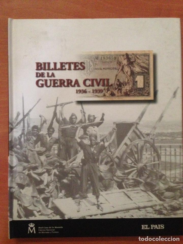BILLETES DE LA GUERRA CIVIL (Libros Nuevos - Educación - Aprendizaje)