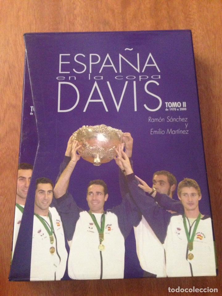 ESPAÑA EN LA COPA DAVIS (Libros Nuevos - Educación - Aprendizaje)