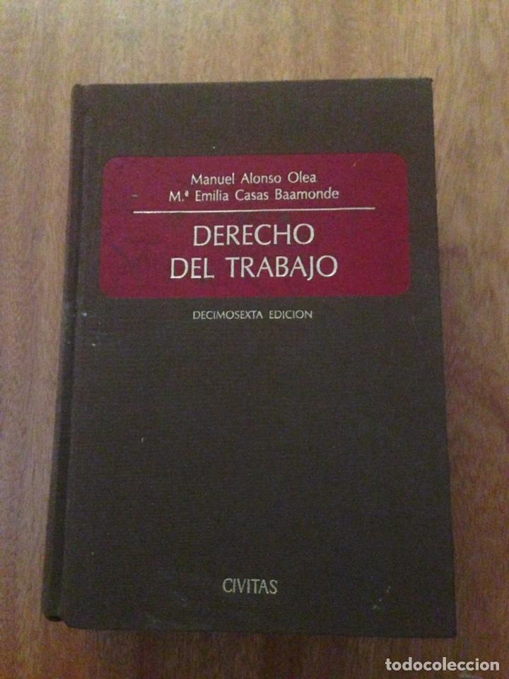 DERECHO DEL TRABAJO (Libros Nuevos - Educación - Aprendizaje)
