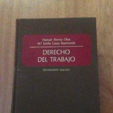 Libros: DERECHO DEL TRABAJO. Lote 135135750