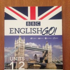 Libros: ENGLISH GO CURSO INTERACTIVO MULTIMEDIA. Lote 135199986