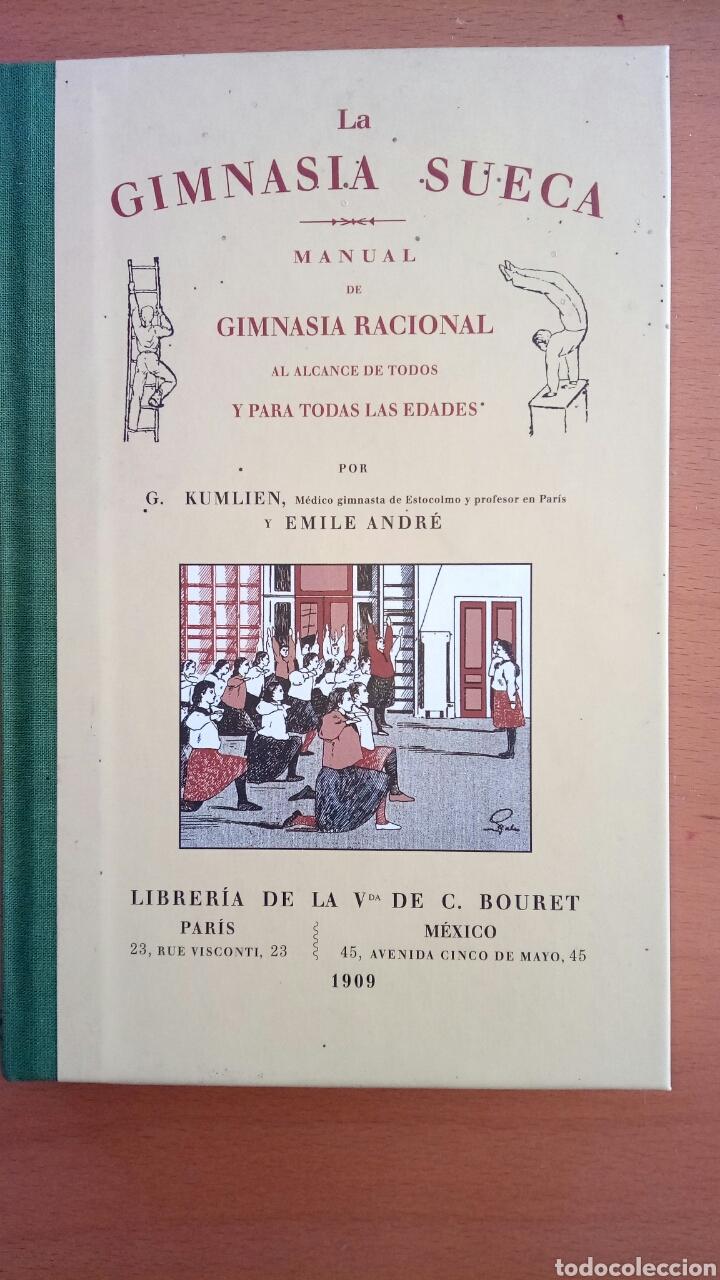 LA GIMNASIA SUECA, MANUAL DE GIMNASIA RACIONAL. (Libros Nuevos - Educación - Aprendizaje)