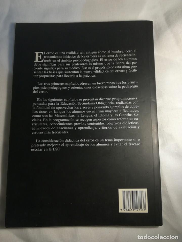 Libros: Cómo aprender de los errores en la enseñanza de la lengua, por Saturnino de la Torre - Foto 2 - 137709542